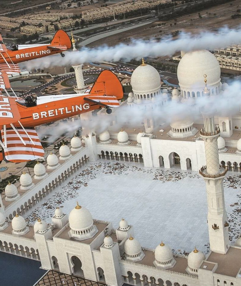 Breitling Takes Pride Of Place In Abu Dhabi Aviation And Aerospace Week