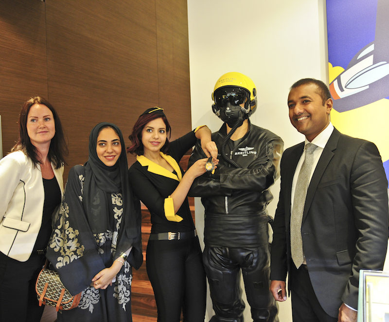 Breitling's Middle East Tour