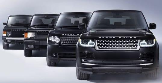 New Land Rover videos
