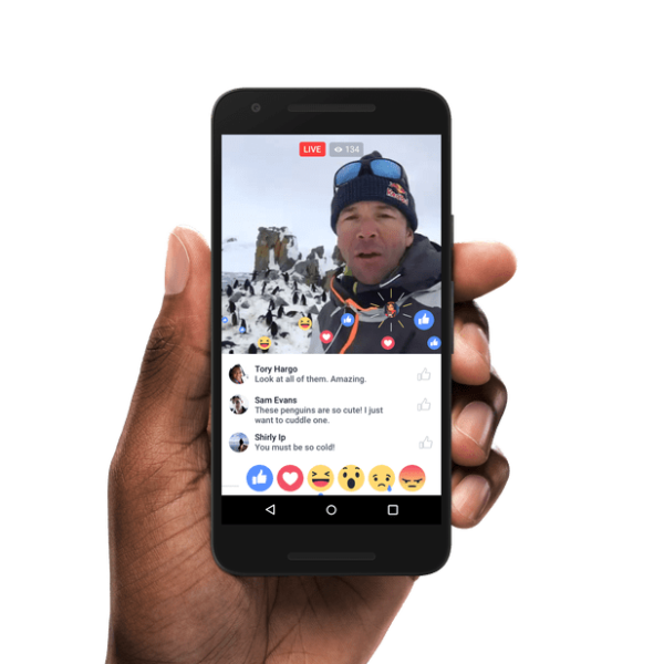 Live Updates for Publishers from Facebook