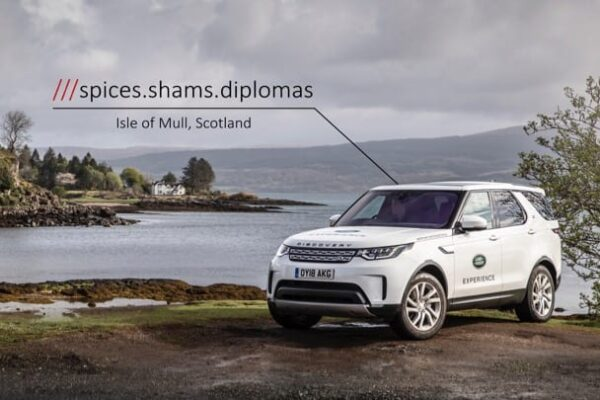 Land Rover – Addressing The Isle of Mull