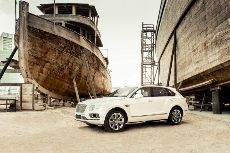 Bentley Motors – Bentayga Mulliner Pearl of The Gulf