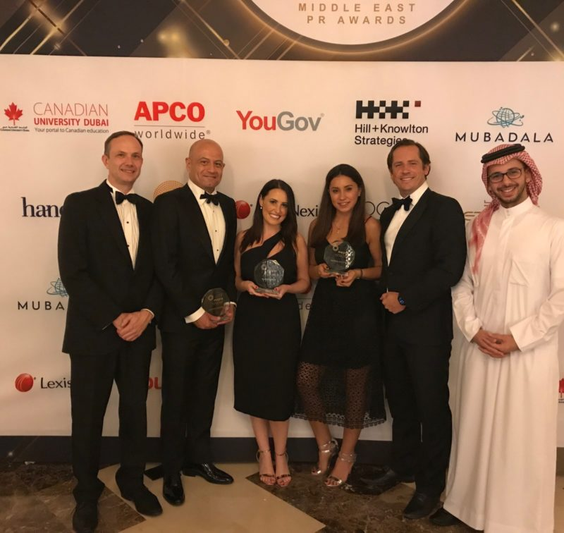 Performance Comms Middle East Awards wins