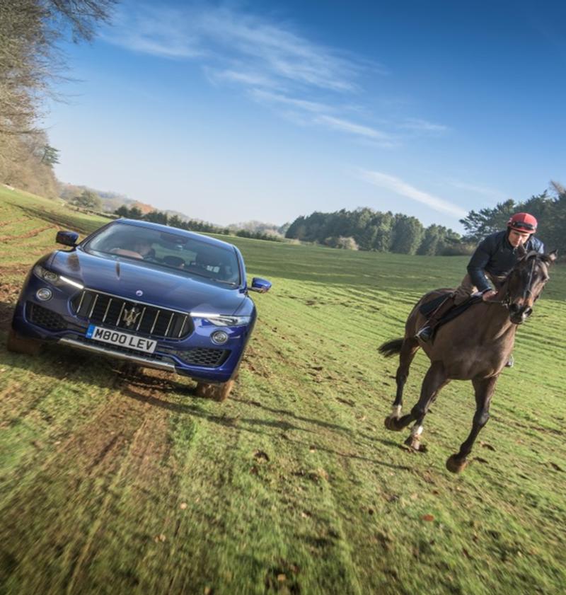 Maserati – Car vs Horse