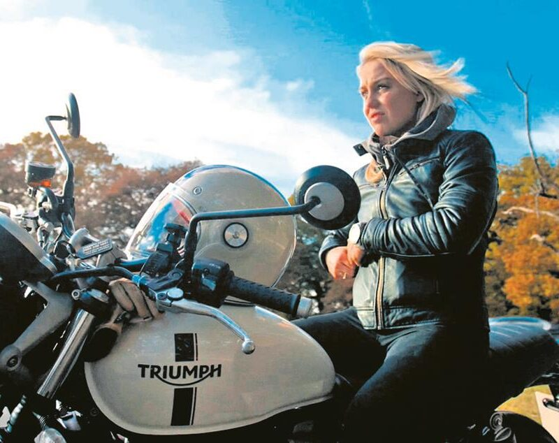 Triumph Motorcycles – Inspiration Ride – Aimee Fuller